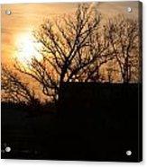 March Sunrise2 Acrylic Print by Jennifer  King