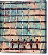 Marching Band Encaustic Acrylic Print