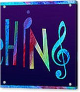 Marching Band Acrylic Print