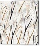 Marching Hearts Acrylic Print