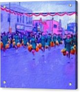 Marching In The Parade Acrylic Print