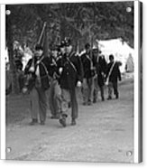 Marching Off To Battle Acrylic Print
