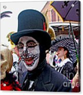 Mardi Gras Costumes Photo Acrylic Print