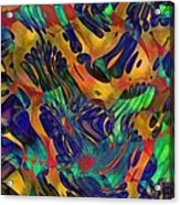 Mardi Gras Acrylic Print