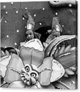 Mardi Gras Float Monochrome Acrylic Print