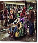 Mardi Gras Parade Acrylic Print by Mark Block