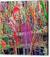 Mardi Gras Tree Acrylic Print