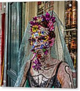 Mardi Gras Voodoo In New Orleans 2 Acrylic Print by Louis Maistros