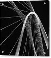 Margaret Hunt Hill Bridge Dallas Texas Acrylic Print