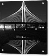 Margaret Hunt Hill Bridge Reflection Acrylic Print