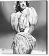 Margaret Lindsay, Ca. 1940 Acrylic Print