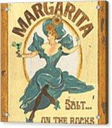 Margarita Salt On The Rocks Acrylic Print