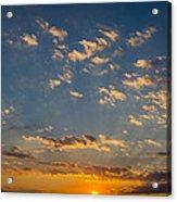 Margate Causeway Sunset Acrylic Print