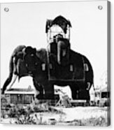 Margate Elephant, C1900 Acrylic Print
