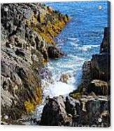 Marginal Way Crevice Acrylic Print