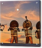 Mariachi Band Acrylic Print by Christine Till