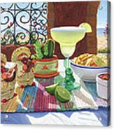 Mariachi Margarita Acrylic Print