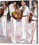 Mariachi  Musicians Acrylic Print