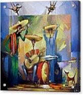 Mariachi  Acrylic Print