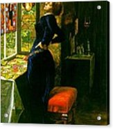 Mariana In The Moated Grange 1851 Acrylic Print