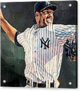 Mariano Rivera - New York Yankees Acrylic Print
