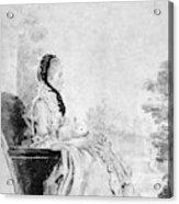 Marie De Vichy-chamrond (1679-1780) Acrylic Print