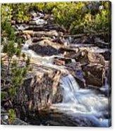 Marie Lakes Stream Acrylic Print