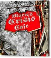 Marie's Crisis Cafe Acrylic Print