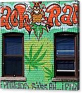 Marijuana 3 Acrylic Print