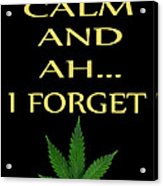 Marijuana 4 Acrylic Print