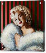 Marilyn 126 D 3 Acrylic Print