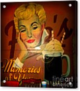 Marilyn And Fitz's Acrylic Print