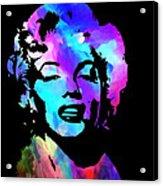 Marilyn Art Acrylic Print by Kenneth Feliciano