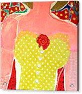 Marilyn Acrylic Print by Diane Fine