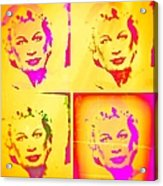 Marilyn Grew Up Acrylic Print