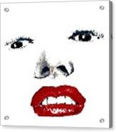 Marilyn II Acrylic Print by David Patterson