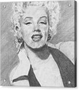 Marilyn. Acrylic Print