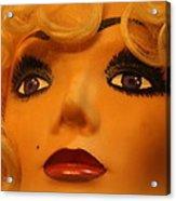 Marilyn Mannequin Acrylic Print