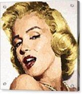 Marilyn Monroe 08 Acrylic Print