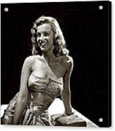 Marilyn Monroe Photo By J.r. Eyerman 1947-2014 Acrylic Print