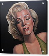 Marilyn Monroe 2 Acrylic Print by Paul Meijering