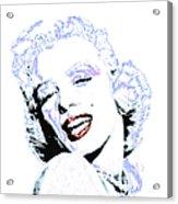 Marilyn Monroe 20130331 Square Acrylic Print