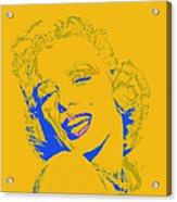 Marilyn Monroe 20130331v2 Square Acrylic Print