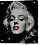 Marilyn Monroe 3 Acrylic Print by Andrew Fare