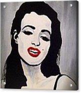 Marilyn Monroe Aka Norma Jean The Beginning Acrylic Print