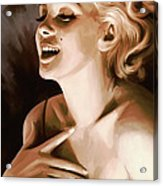 Marilyn Monroe Artwork 1 Acrylic Print