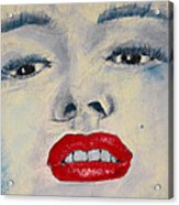 Marilyn Monroe Acrylic Print by David Patterson