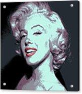 Marilyn Monroe Pop Art Acrylic Print by Daniel Hagerman