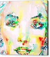 Marilyn Monroe Portrait.5 Acrylic Print
