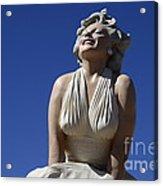 Marilyn Monroe Statue 2 Acrylic Print